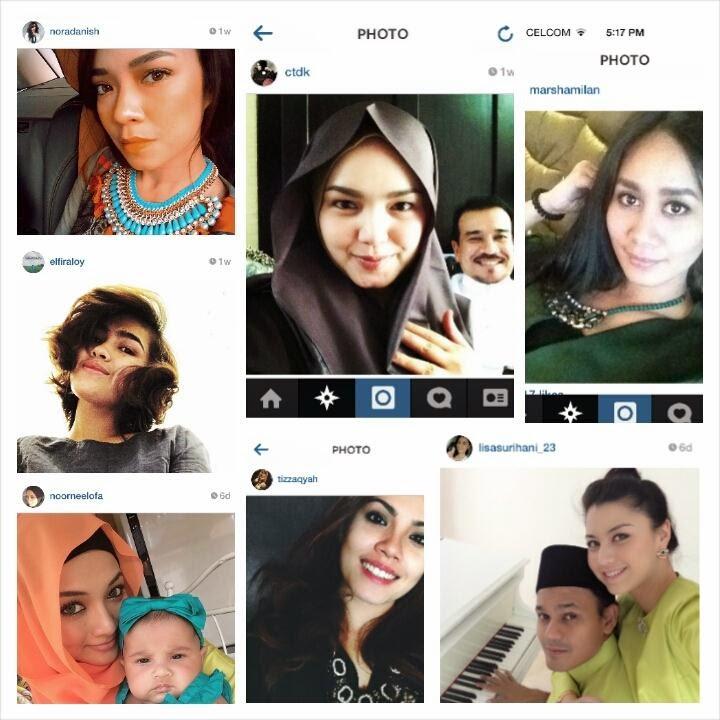 Riak dan Gaya Selfie Raya Selebriti Popular