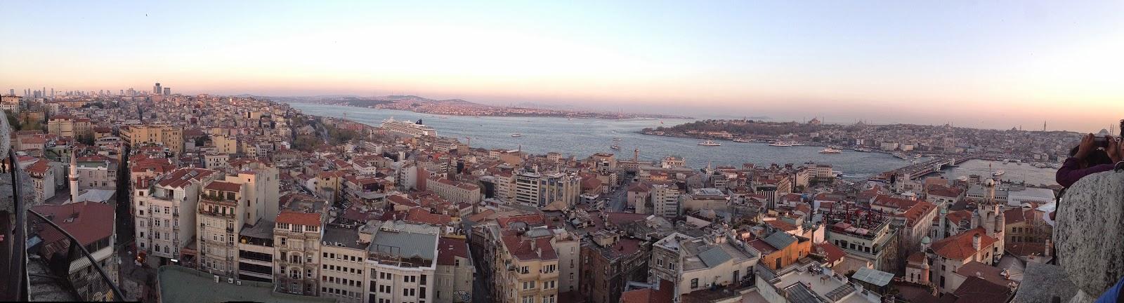 Galata Kulesinden İstanbul Görünümü