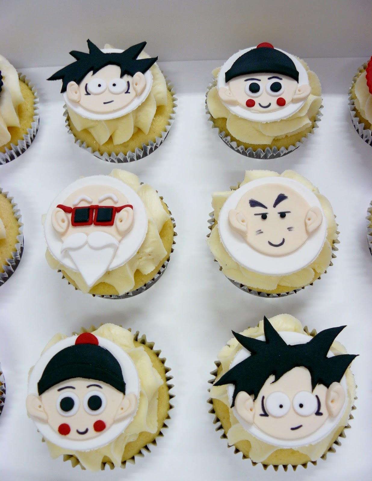 The Cup Cake Taste Brisbane Cupcakes Dragon Ball Z cupcakes