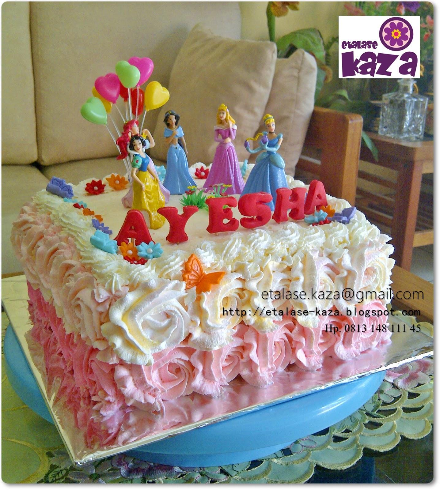 Birthday Cake Pics With Name Ayesha : Etalase KAZA: Ayesha Birthday Cake