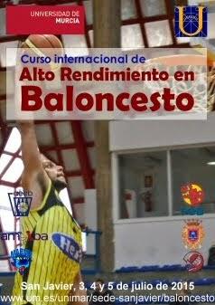 Curso Internacional de Alto Rendimiento en Baloncesto 2015