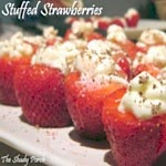 Stuffed Strawberries...appetizer, snack or dessert