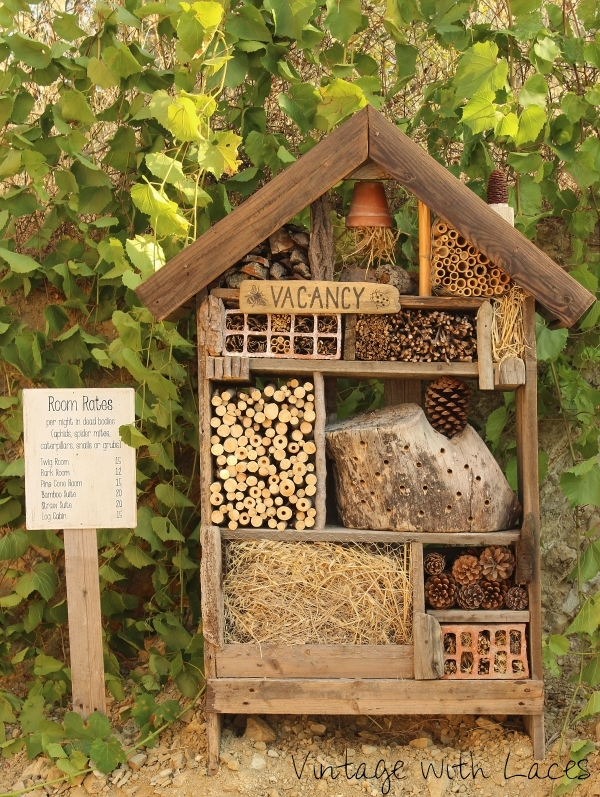 Vintage With Laces Insect Hotel Now Open