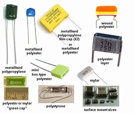 all type of capacitor