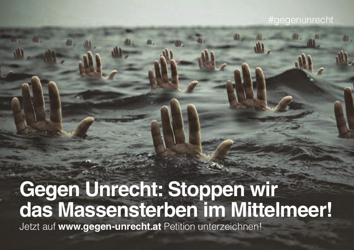 Bitte unterschreiben: www.gegen-unrecht.at