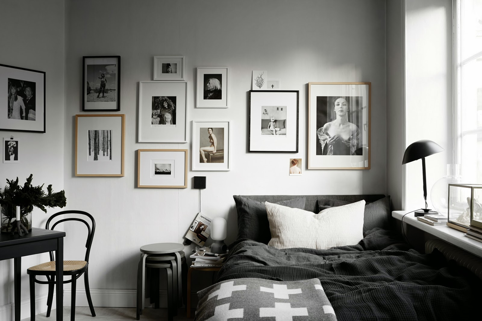 Gallery Wall Ideas Black And White : Rotkraut sch?ner wohnen