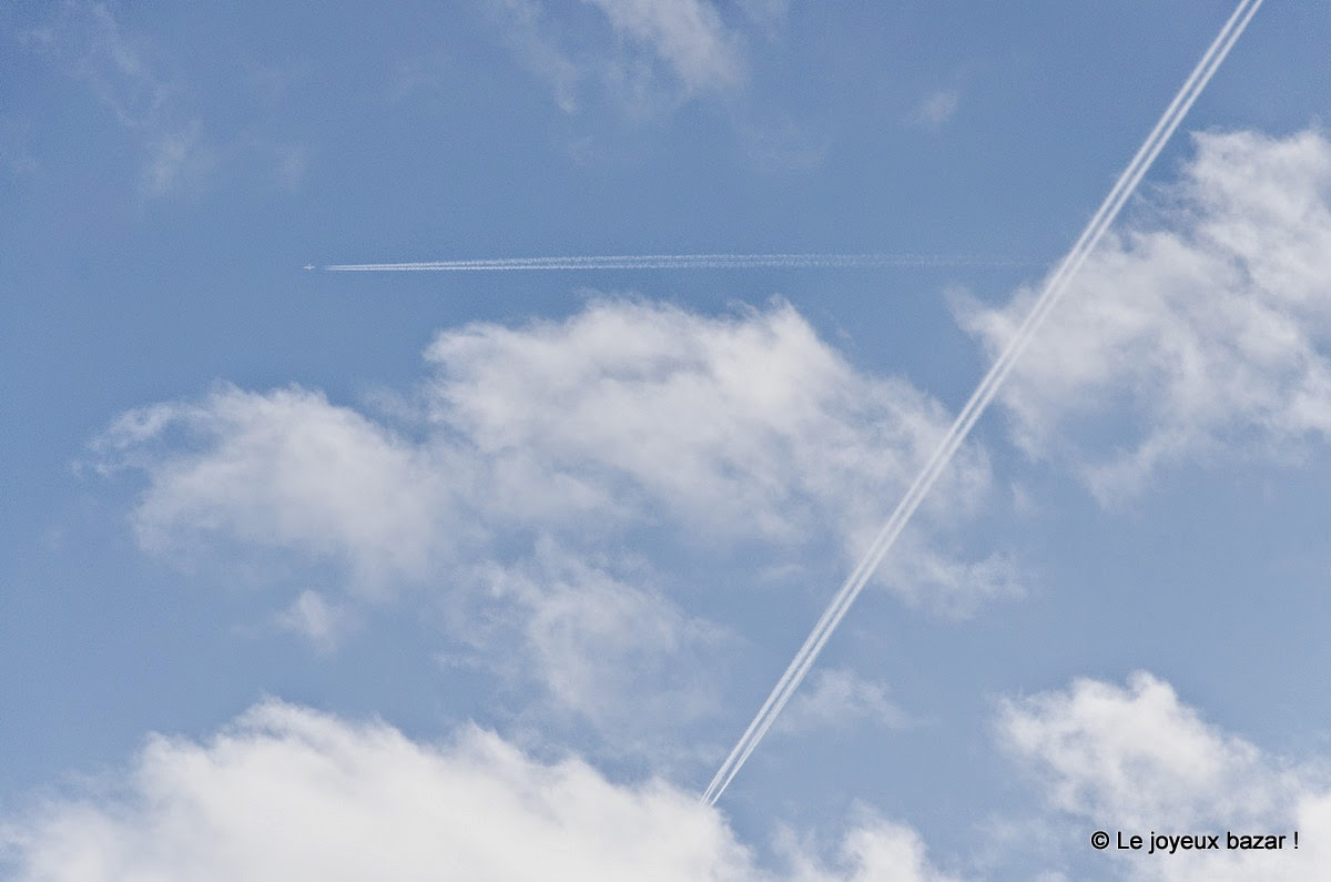 Avions dans le ciel