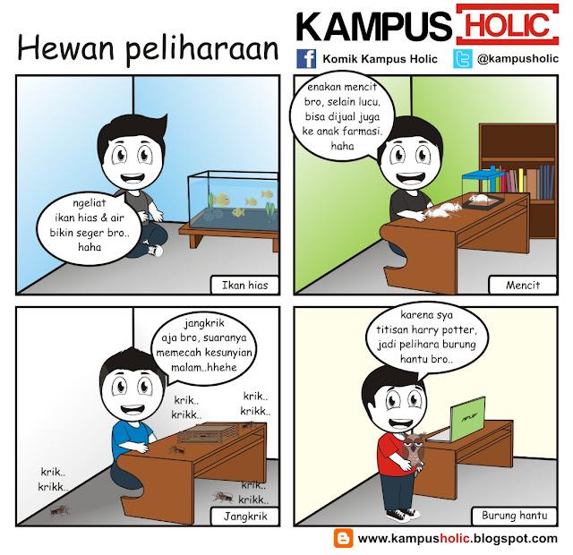 #124 Hewan peliharaan mahasiswa di kos