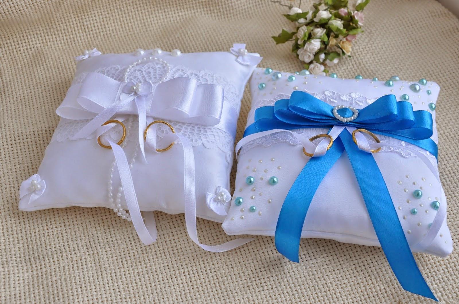 Свадебная подушечка для колец своими руками пошагово 24