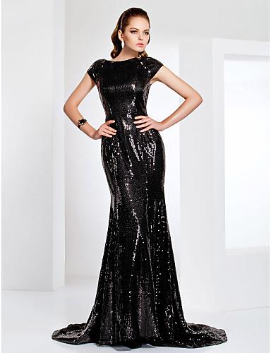 Vestido Negro de Lentejuelas SENTA