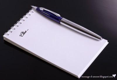 lettre pour declarer son amour