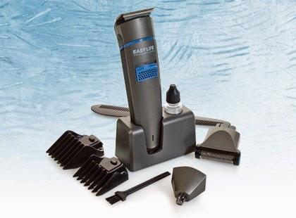 Bezprzewodowy zestaw maszynka do strzyżenia włosów EasyLife z Biedronki 5w1