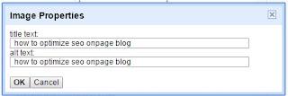 how to optimize seo onpage blog