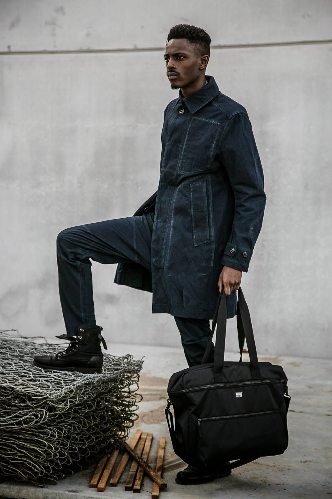 JONTHEGOLD fOR GSTAR RAW  blue collar worker denim look