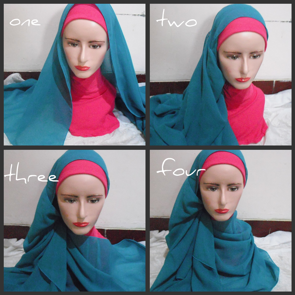 NEW FREE DOWNLOAD TUTORIAL HIJAB SEGI EMPAT SIMPLE Hijab