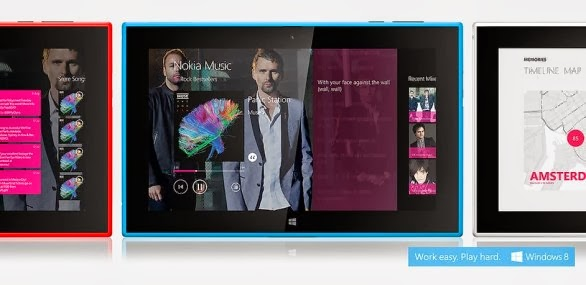 Nokia Lumia 2520 is available in 4 colors