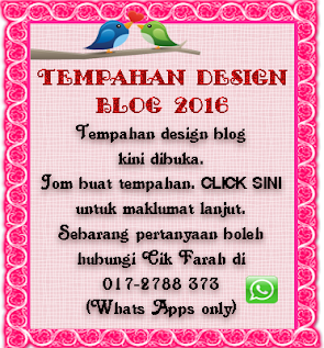 Tempahan Design Blog 2016-2017