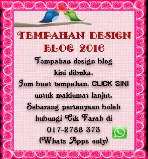 Tempahan Design Blog 2016