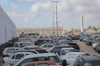 Detran leiloará mais de 300 veículos no dia 11 de julho