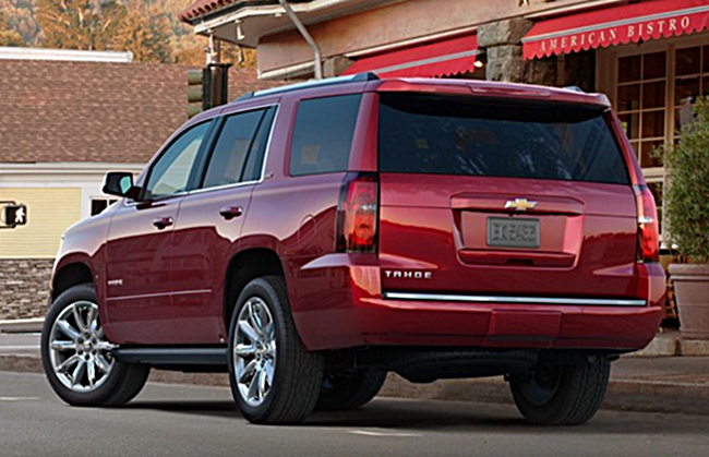Chevy Tahoe Redesign Release Changes