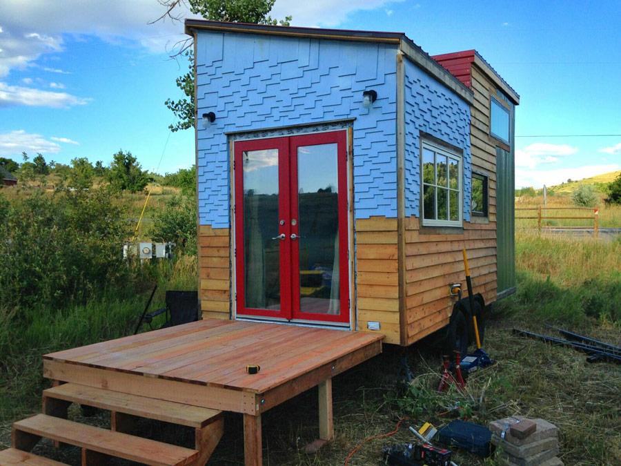 Tiny House E Kinsley Small Spaces Addiction