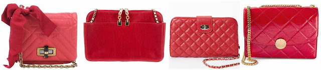 Three of these quilted red bags are from designers Lanvin, Chloe, and Marc Jacobs for thousands of dollars and one is from Forever 21 for $22.90. Can you guess which one is the more affordable bag? Click the links below to see if you are correct!