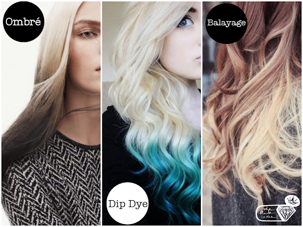 guide ombr dip dye and balayage