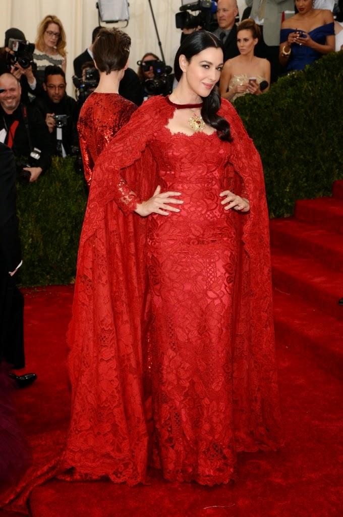 Monica Belucci in Dolce&Gabbana
