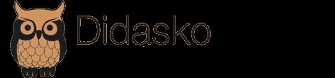 Logotipo. uma coruja nas cores preta e marrom