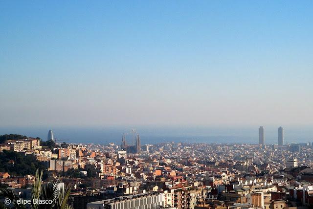 Un skyline de Barcelona