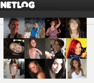 Login to Netlog to explore yourself with People