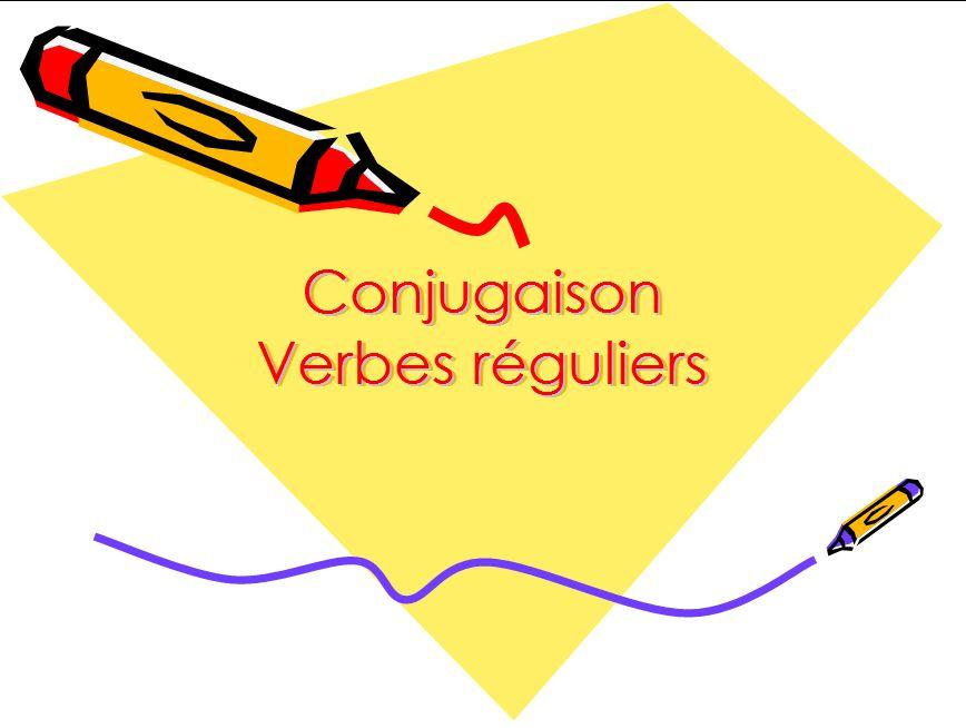 Bac Pro Commerce Espagnol Verbes Reguliers Present De L Indicatif