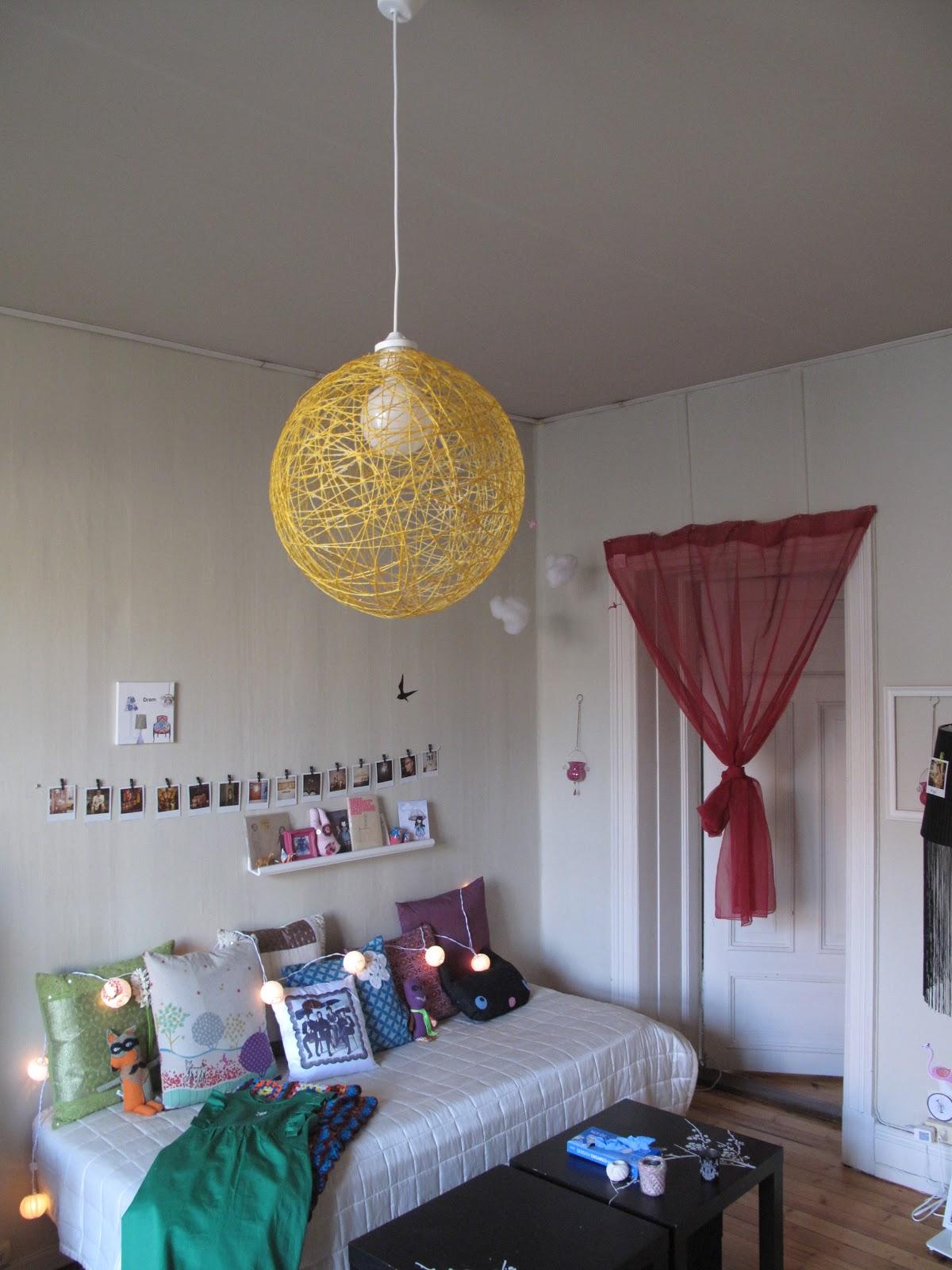 Sett det i en ramme: ballonglampe. trådlampe. eller hva det nå enn ...