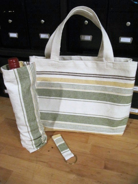placemat tote bag