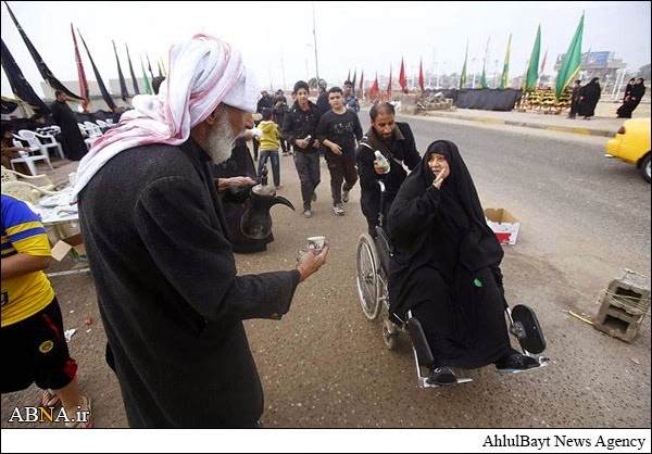 Arbaeen 2014 - Feeding pilgrims for free
