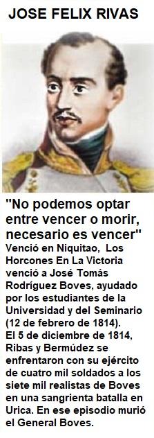 Nacio el 19 de noviembre de 1775, Caracas