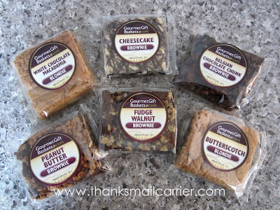 GourmetGiftBaskets.com Brownie Sampler review