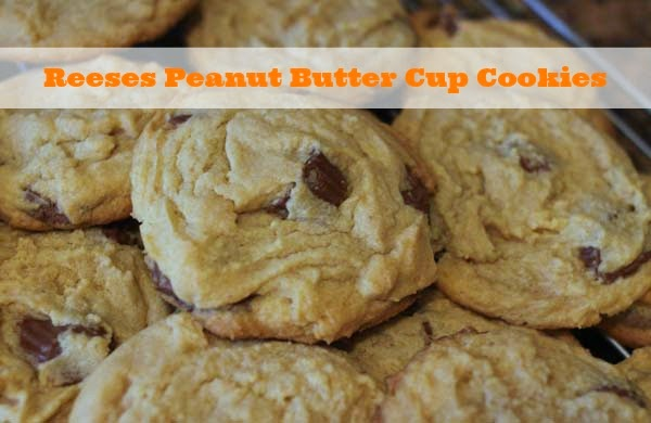 The Larson Lingo: Reeses Peanut Butter Cup Cookies