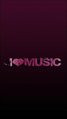 I Love Music download besplatne pozadine slike za mobitele