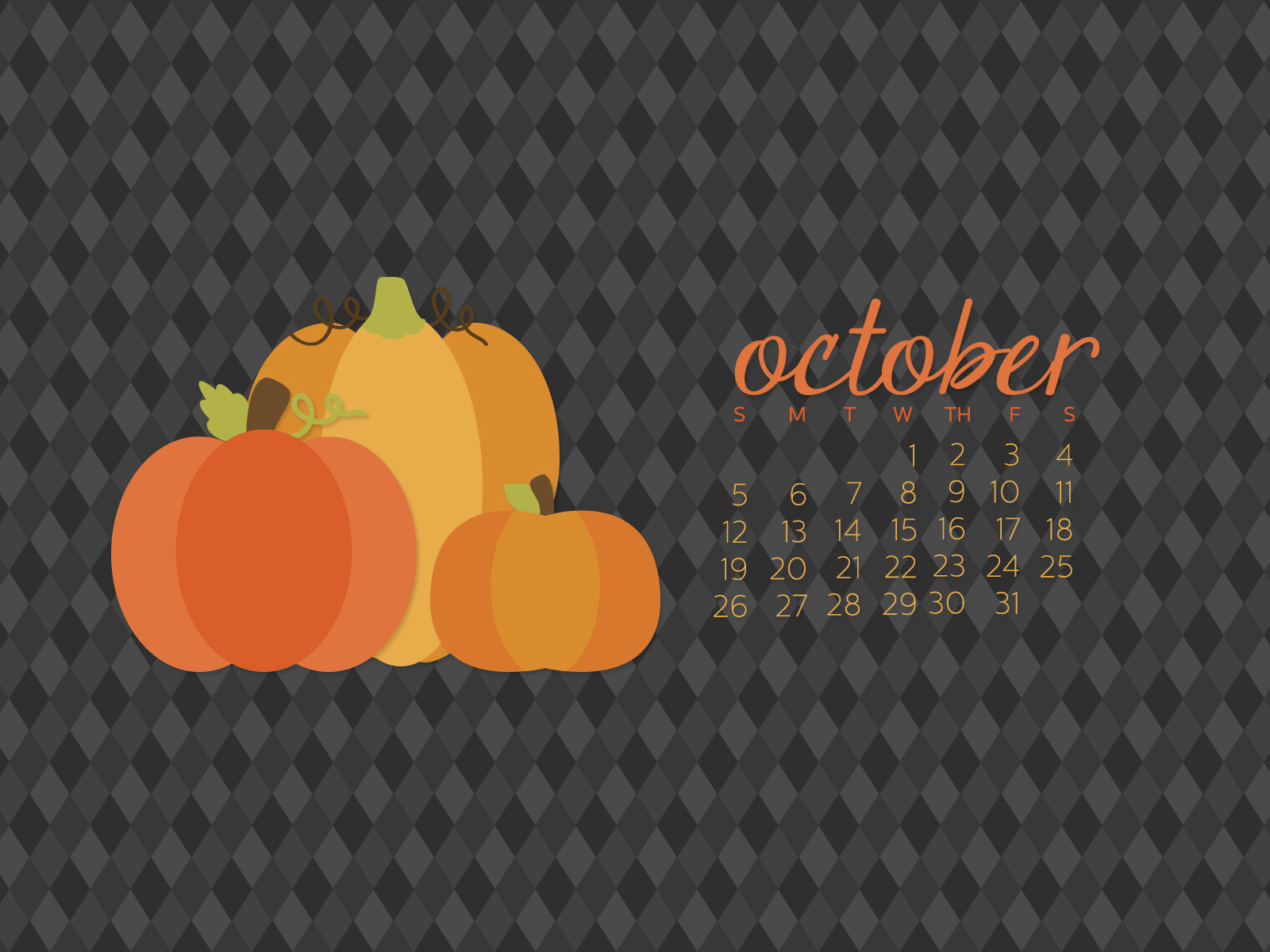 simply brenna 2014 desktop calendar october 2014
