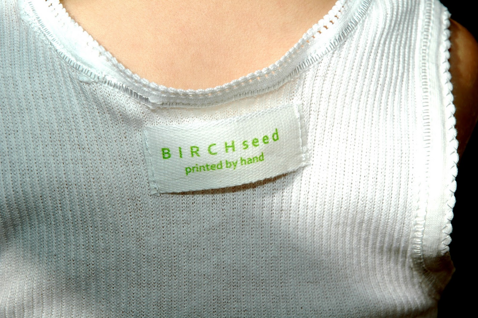 B I R C H S E D Printed By Hand Tutorial How To Make Home Made Cloth Labels For Clothes And Products