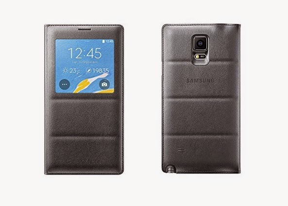 S View Flip Cover Folio Case for Samsung Galaxy Note 4