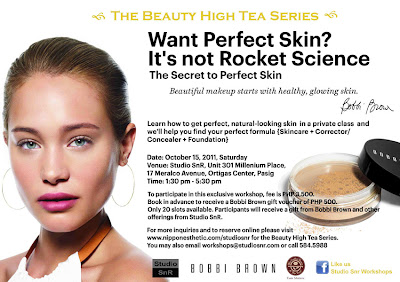Studio SnR Bobbi Brown Perfect Skin Make-Up Workshop