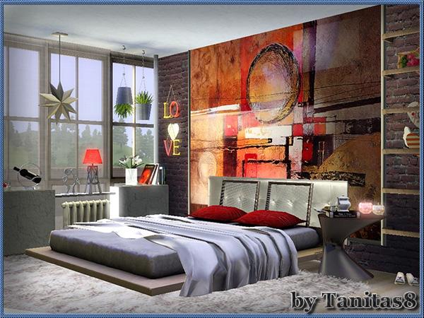 Hellen sims3 loft apartment by tanitas8 for Apartment design sims 3