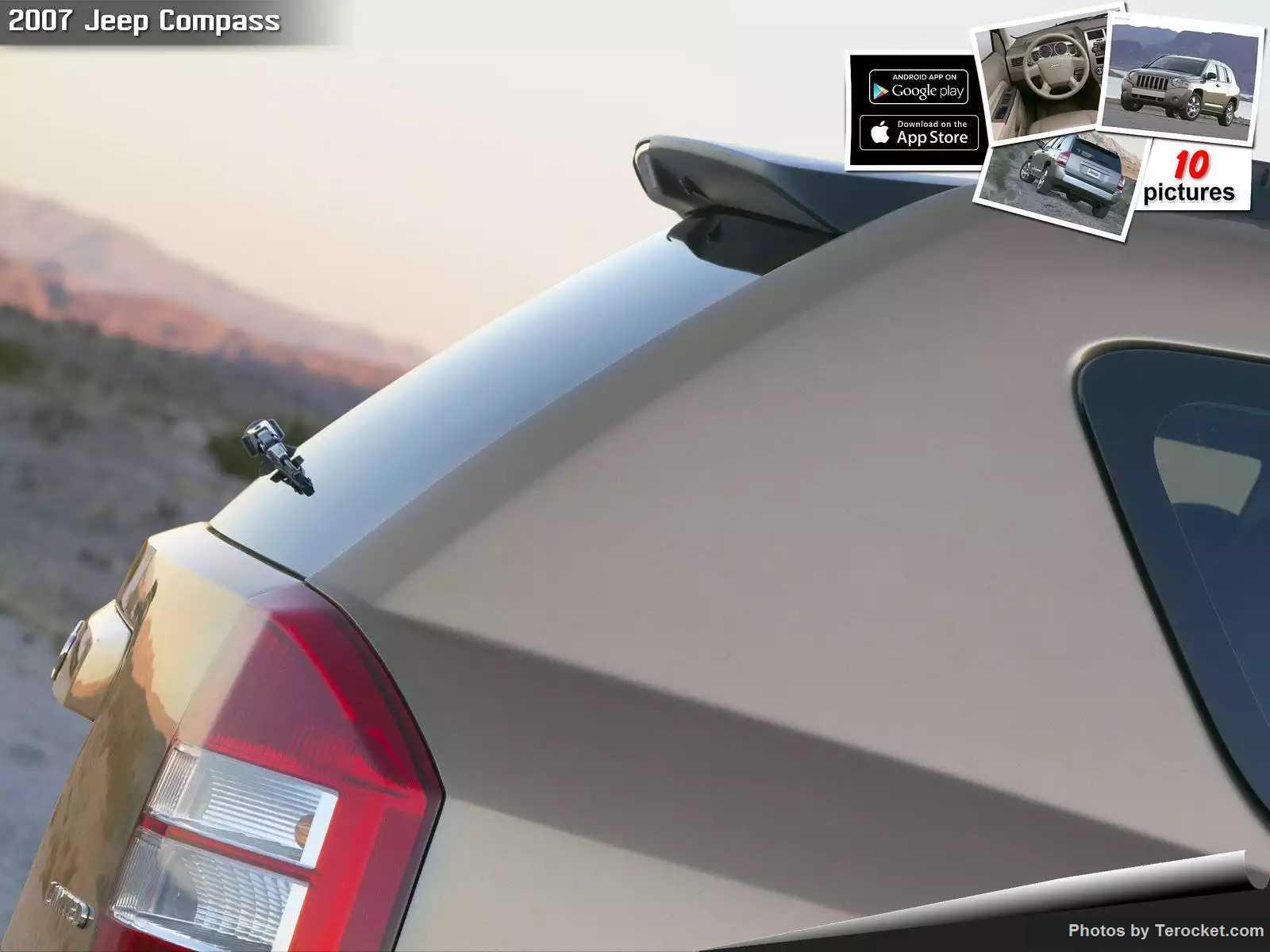 Hình ảnh xe ô tô Jeep Compass 2007 & nội ngoại thất