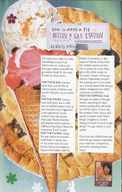 How to Make a Pie Inside a Gas Station for The Runcible Spoon