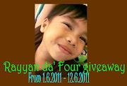 Rayyan da' Four Giveaway