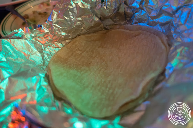 image of homemade tortillas at El Maguey Y La Tuna on the Lower East Side, NYC, New York
