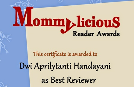 "Best Reviewer ""Mommylicious_ID"""