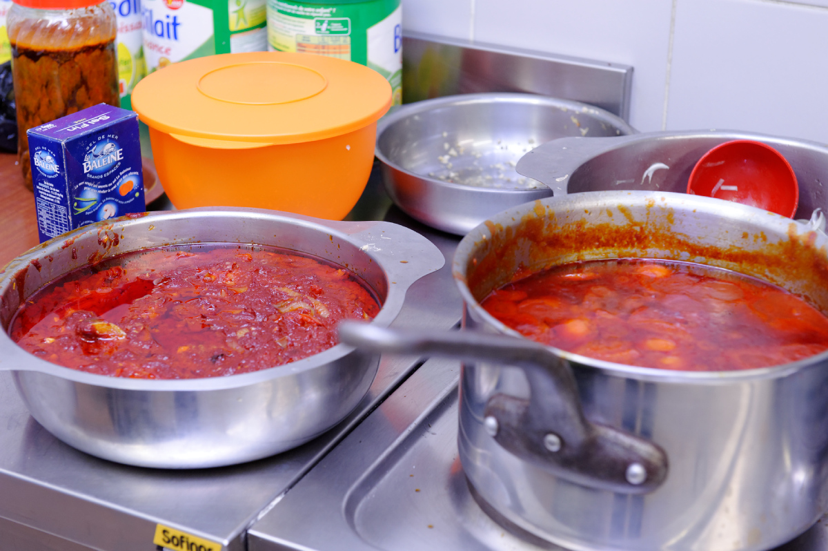 Dimanche dernier a thodure repas togolais avec artistik adokpo le blog de st marcel l s - Repas de noel a congeler ...